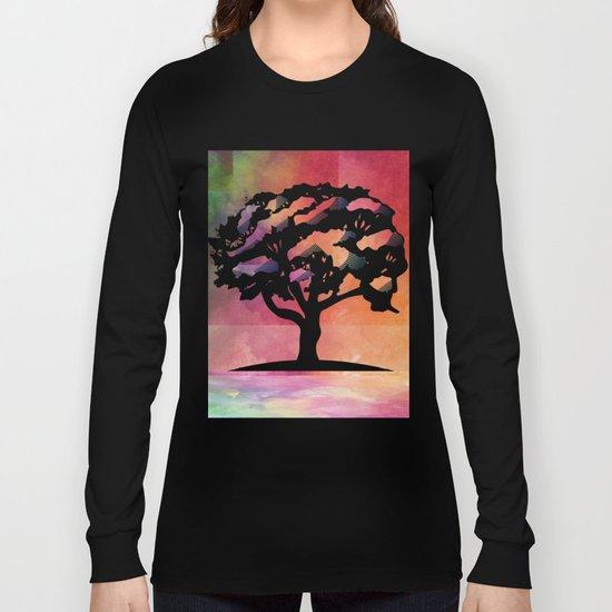 Color Tree Long Sleeve T-shirt