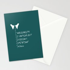 QUOTE-5 Stationery Cards