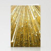 big bang Stationery Cards featuring Big Bang by Foxxya