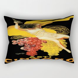 Vintage poster - Asti Cinzano Rectangular Pillow