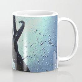 Flight of giant octopus Coffee Mug