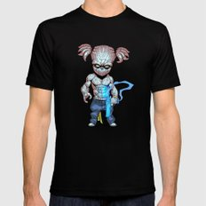Roswell gang - Inky - Villains of G universe MEDIUM Black Mens Fitted Tee