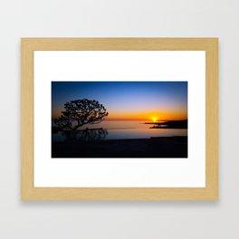 Sunset on PCH Framed Art Print