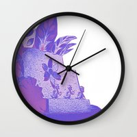 ducks Wall Clocks featuring Ducks by Brittany Bennett