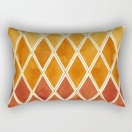 Autumn colors and  gold texture Rectangular Pillow