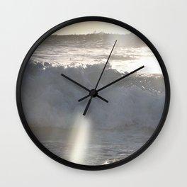 The rip tide Wall Clock
