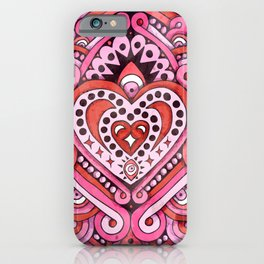 Love Frequency iPhone Case