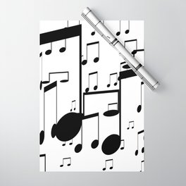 music notes Wrapping Paper