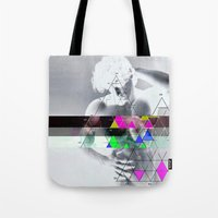 apollo Tote Bags featuring my apollo by Robert Alan