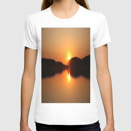 Sunset in May #decor #society6 T-shirt