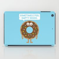 sprinkles iPad Cases featuring It's Not All Rainbow Sprinkles... by David Olenick