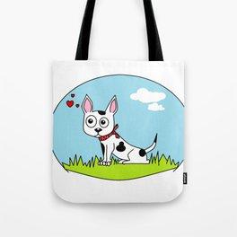 lovely doggie Tote Bag