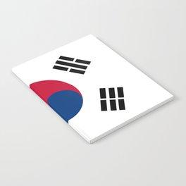 South Korean Flag Notebook