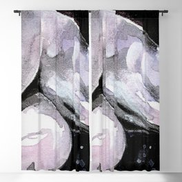 Nude by Kathy Morton Stanion Blackout Curtain