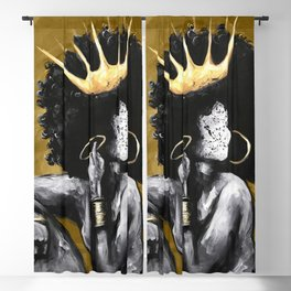 Naturally Queen VI GOLD Blackout Curtain