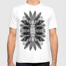 The Blackfish Camouflage Mens Fitted Tee SMALL White