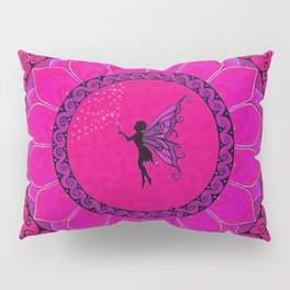 Fairy Garden Pink Pillow Sham