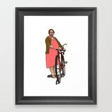 Fat Titsy Framed Art Print
