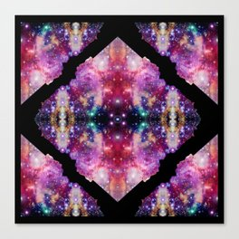 Cosmic Kaleidoscope Canvas Print