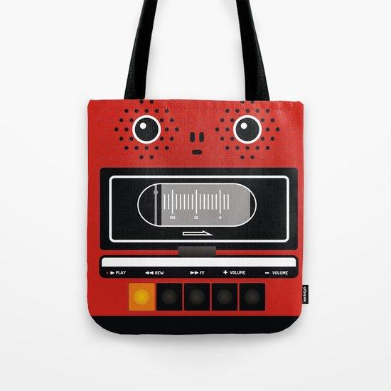 geeky recorder Tote Bag
