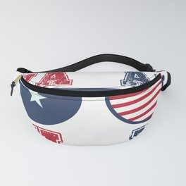 Vacay USA Family Vacation Matching  design Fanny Pack