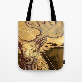 Stag Dimension of Dust Tote Bag