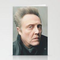 christopher walken Stationery Cards featuring Walken by AXLWD