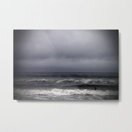 gray on gray Metal Print