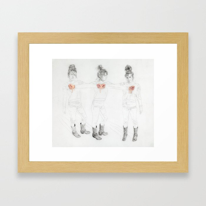Vini Vidi Vici Framed Art Print