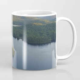 Lac in Mont-Tremblant national park in sunshine, Quebec, Canada Coffee Mug