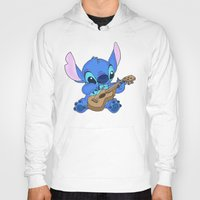 stitch Hoodies featuring Stitch by Christa Morgan ☽