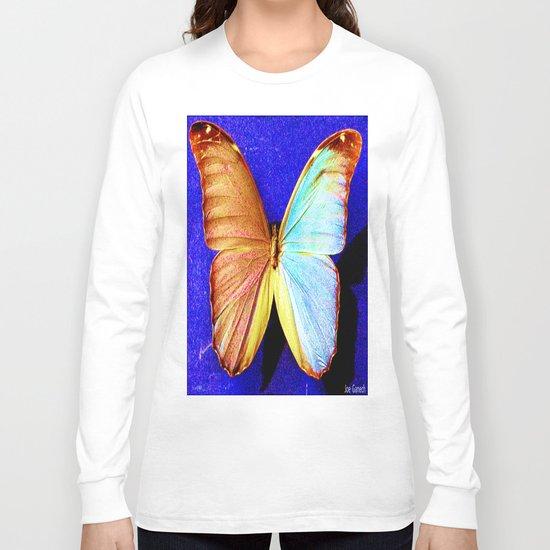 le papillon bleu Long Sleeve T-shirt
