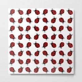 Lovebugs Metal Print