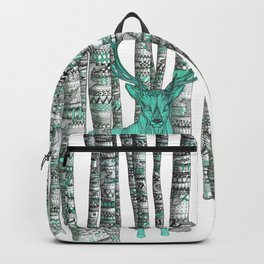 Turquoise Stag Backpack