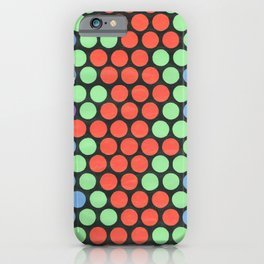 Honeycomb Dots iPhone Case