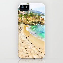 Laguna Beach Coast iPhone Case