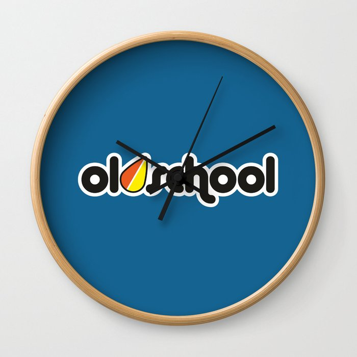 OLDSCHOOL v1 HQvector Wall Clock