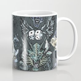 Tattoo Repeat Pattern Coffee Mug