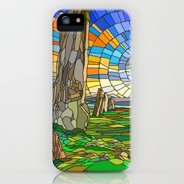 Calanais Sunset iPhone Case
