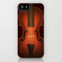 Straordinarius Stradivarius iPhone Case