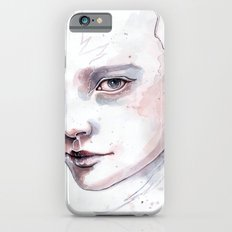 Frozen, quick watercolor portraiture iPhone 6s Slim Case