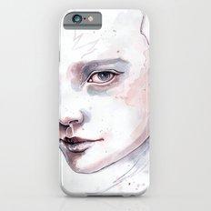 Frozen, quick watercolor portraiture Slim Case iPhone 6