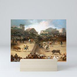 Goya Bullfight in a Divided Ring Mini Art Print