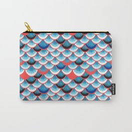 Beautiful abstract vector illustration with curls and waves Carry-All Pouch