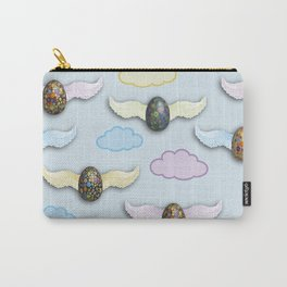 Flying Eggs Carry-All Pouch