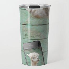 ALPACA - SELFIE Travel Mug
