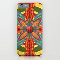 Thistle Pattern Slim Case iPhone 6s