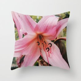 Mother Lily Throw Pillow