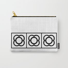 BARCELONA BLACK AND WHITE Carry-All Pouch