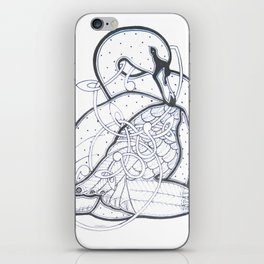 Carrick Swan iPhone Skin